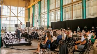 Impressionnen der Ausstellung #Zeitsprungindustrie in der Zeitsprunghalle in Baden