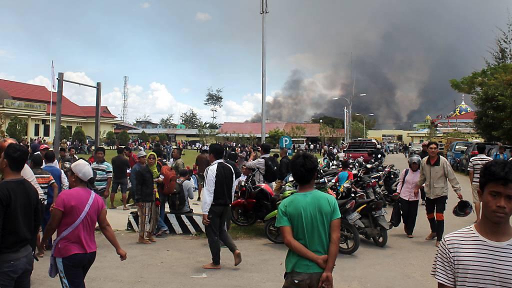20 Tote bei Protesten in Papua