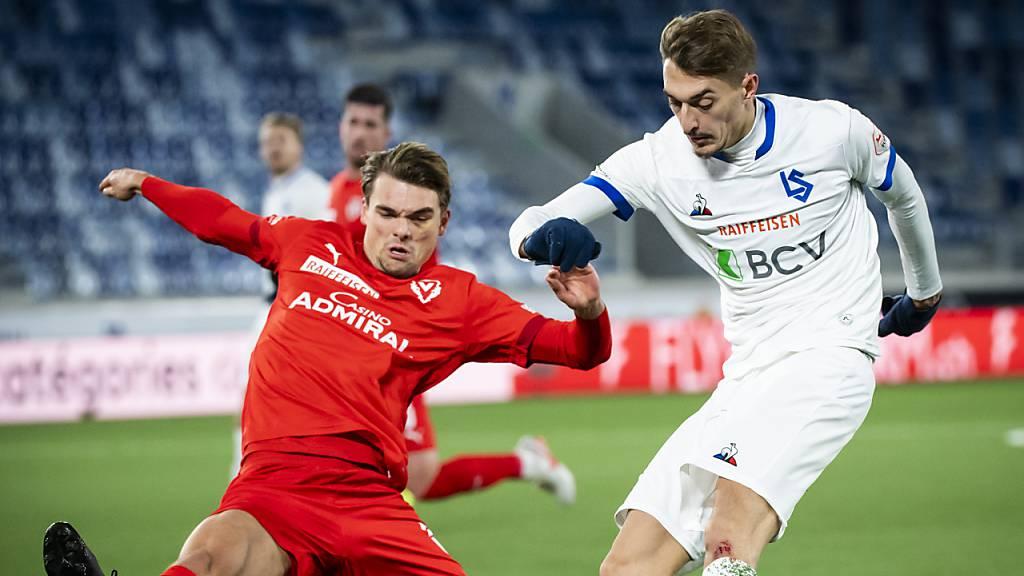 Lausannes erster Sieg im neuen Stadion