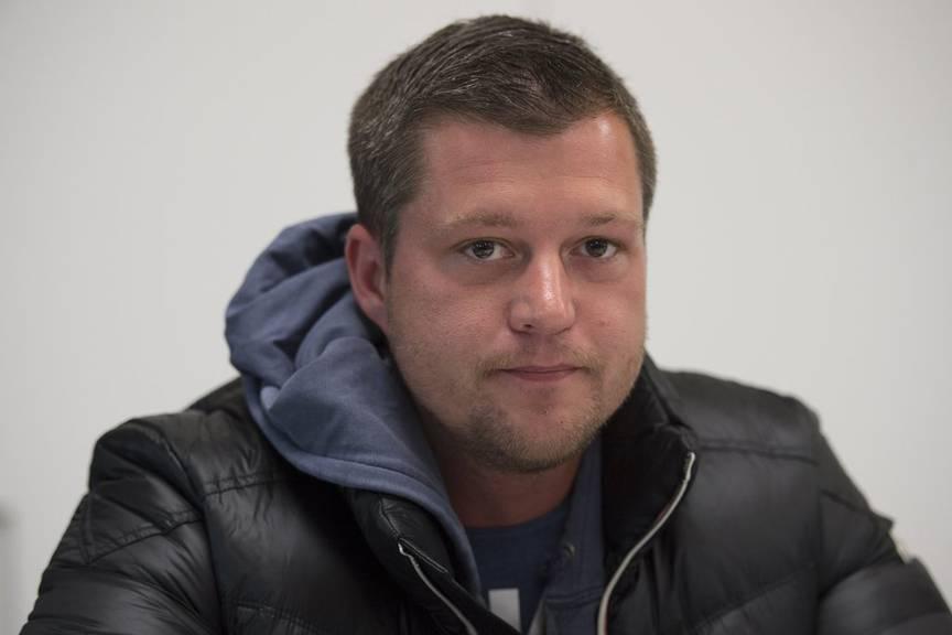 Mike Gerzner, Praesident Bewegung der Schweizer Reisenden. (KEYSTONE/Gian Ehrenzeller)