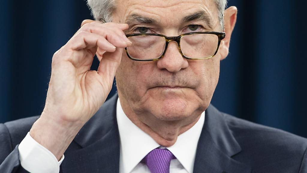 Die Sitzungsprotokolle der US-Notenbank unter der Führung von Jerome Powell zeigen auf, wie innerhalb des Gremiums um eine angemessene Zentralbankpolitik gerungen wird. (Archivbild)