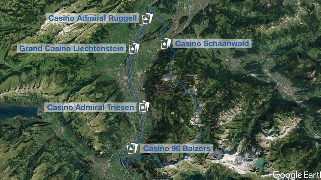 Casinowildwuchs: Liechtenstein will Notbremse ziehen