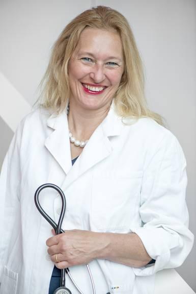Dr. med. Heidi Zinggeler Fuhrer ist Vize-Präsidentin bei Haus- und Kinderärzte Schweiz (mfe).