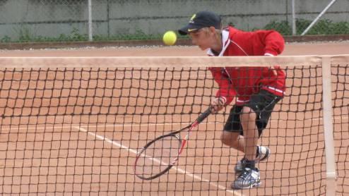 Hat keinen Grund, sich vor der Konkurrenz zu verstecken: Der zwölfjährige Nicolas Küpfer.