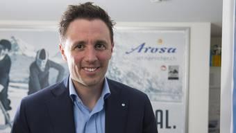 Pascal Jenny, Arosas Tourismusdirektor und neuer Präsident der Tourismus-Partei.