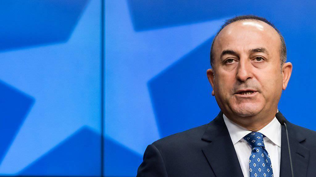 Will sein Ministerium säubern: Der türkische Aussenminister Mevlüt Cavusoglu. (Archiv)