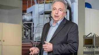 Michael Dost leitete das Kernkraftwerk Beznau seit 2016.