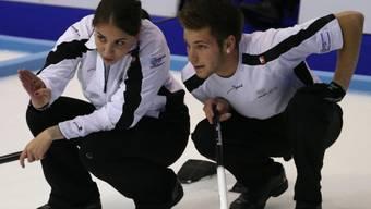 Erfolgreiche Teamarbeit: Michelle und Reto Gribi