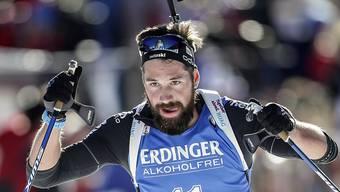 Benjamin Weger war zunächst auf Medaillenkurs unterwegs