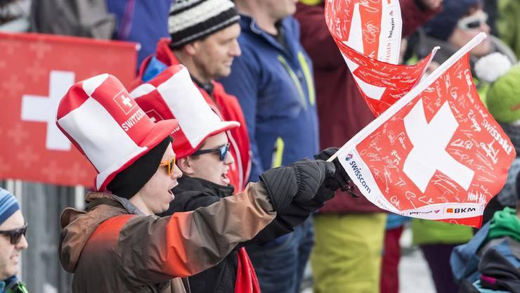 Die Ski-Fans erleben heute keinen Wettkampf. Dafür stehen zwei Abfahrtstrainings auf dem Programm.