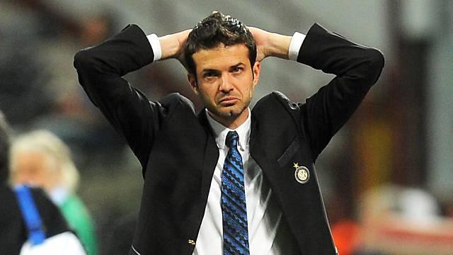 Bei Inter Mailand entlassen: Trainer Andrea Stramaccioni