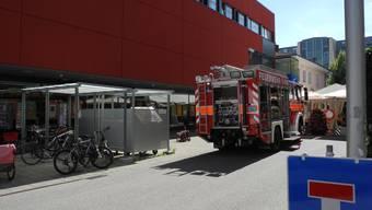 Im Centro wurde Feueralarm ausgelöst