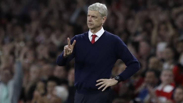 Arsène Wengers Vertrag läuft im Sommer aus, der 66-Jährige würde gerne verlängern: «Ich habe nur den Fussball.»
