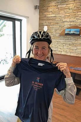 Regierungsrätin Susanne Schaffner: 11,5 km brachten 430 Franken.