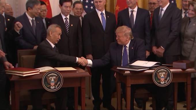 Trumps Teilabkommen mit China: Was sind die Auswirkungen?