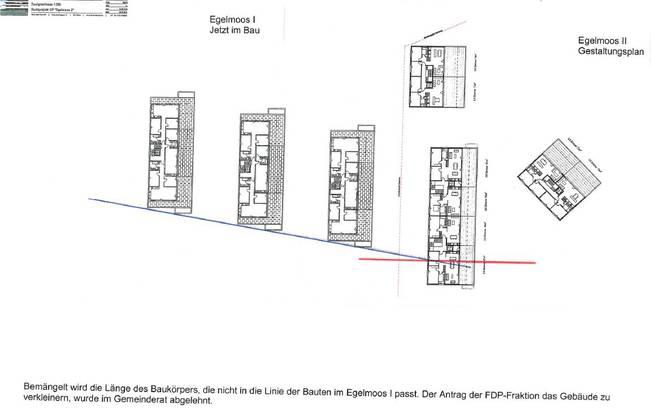 Die Änderungen des Gestaltungsplans «Egelmoos 2» in Biberist