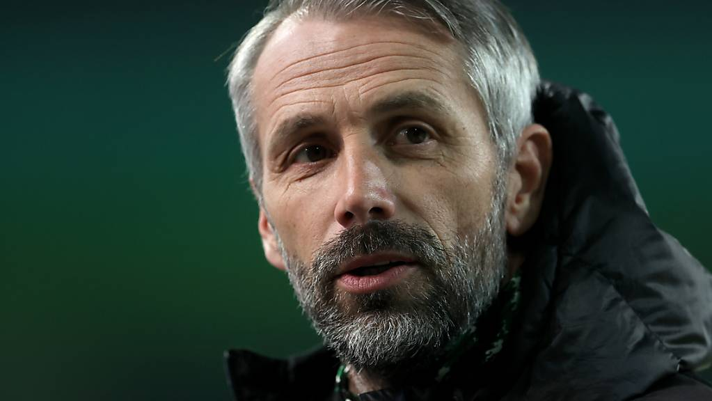 Cheftrainer Marco Rose: An ihm hat sich Mönchengladbachs sportliche Krise entzündet