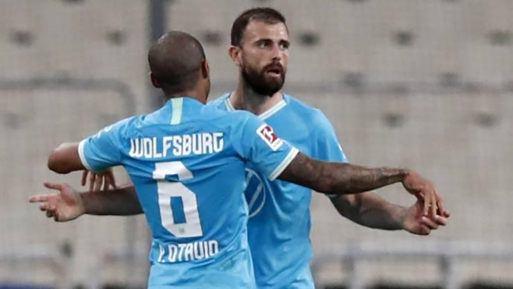 Admir Mehmedi feiert bei Wolfsburg den ersten Sieg in der Meisterschaft