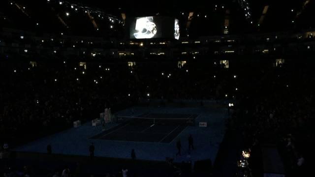 ATP Finals - Halbfinal Federer - Wawrinka