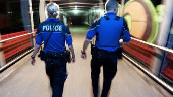 Die Lausanner Polizei auf Streife (Symbolbild)