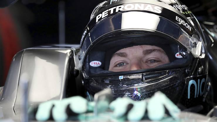 Bestzeit im ersten freien Training in Suzuka: WM-Leader Nico Rosberg