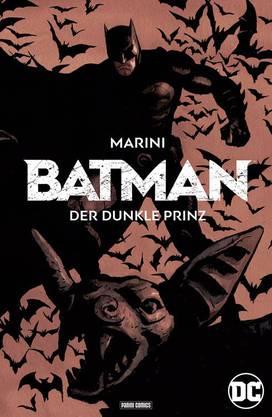 zwei Alben mit Hardcover, DC/Panini/Dargaud.