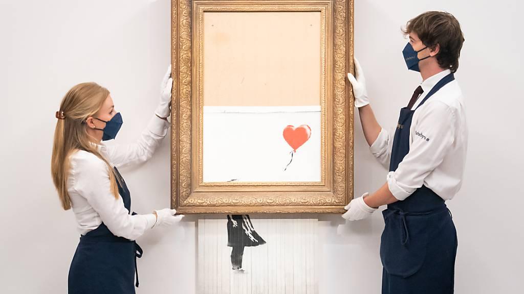 Geschreddertes Banksy-Werk wird in London versteigert