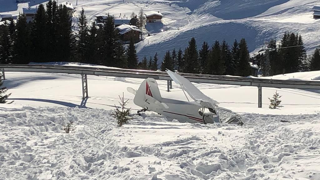 Pilot nach Flugzeugabsturz im Spital verstorben