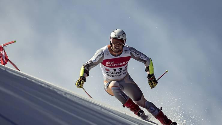 Aleksander Kilde findet sich auf dem Olympiabakken von Kvitfjell sehr gut zurecht