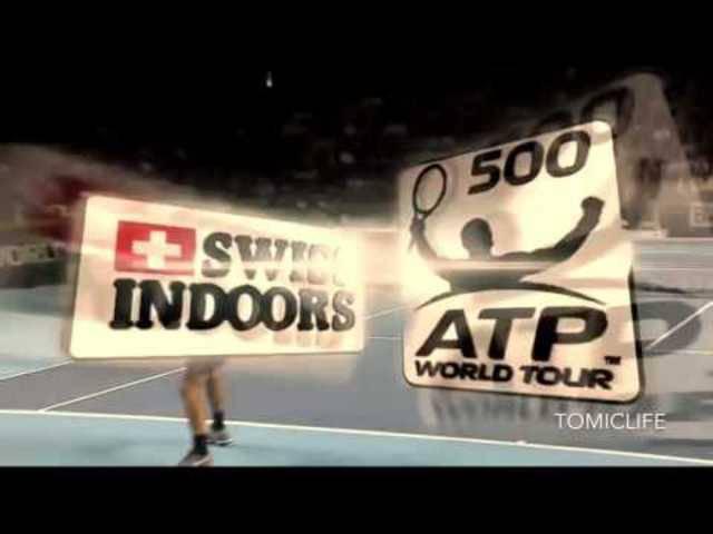 Roger Federer gegen Rafael Nadal: Das Ende des Swiss-Indoors-Finals in Basel.