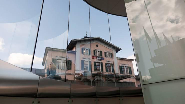 Bahnhof Baden: Jetzt soll es der Heimatschutz richten.  alex Spichale