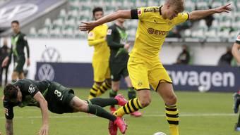 Renato Steffen (am Ball) wird am Sonntag als virtueller Schweizer Nationalspieler aktiv sein