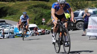 Till Dreier fährt beim Bergrennen Martigny–Mauvoisin knapp vor Moreno Angst als Fünfter ins Ziel. staehli