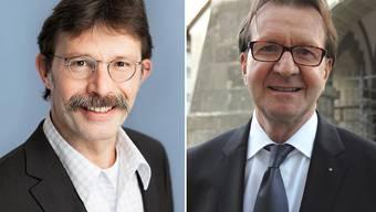 Hans-Martin Plüss (links) und Hans-Ruedi Hottiger