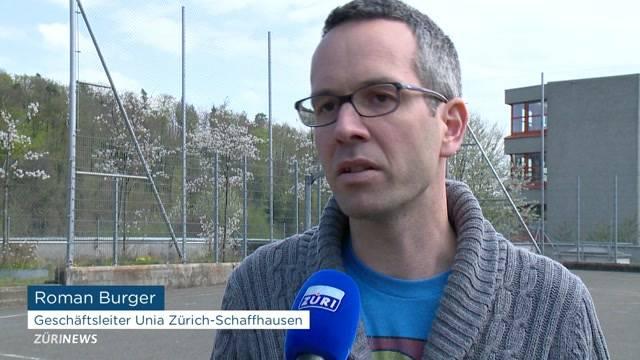 UNIA-Gewerkschafter Roman Burger angezeigt