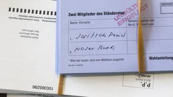 Im Kanton Aargau sollen die 9300 stimmberechtigten Auslandschweizerinnen und Auslandschweizer künftig bei den Ständeratswahlen mitentscheiden können.