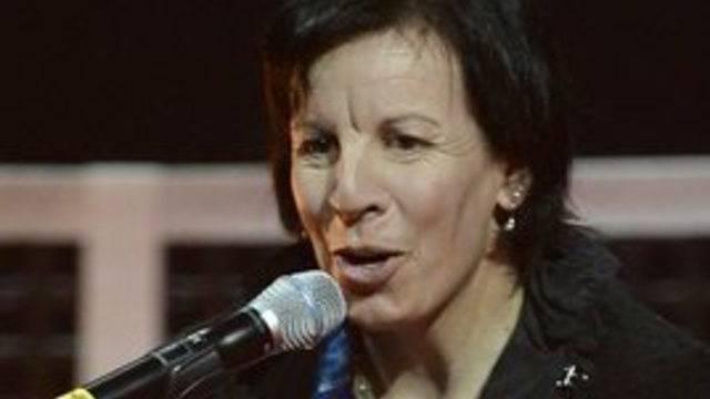 Auf zwei Brettern war Vreni Schneider stets schnell unterwegs - nun versucht sie sich im Musikgeschäft (Archiv)