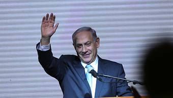"""Der alte Ministerpräsident ist wohl auch der neue: """"Bibi"""" Netanjahu"""