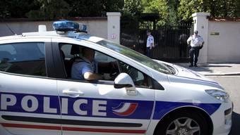 Die französische Polizei im Einsatz (Archivbild)