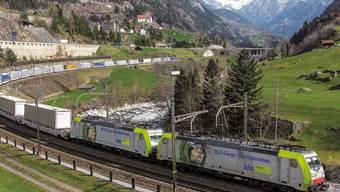 Dank einem Software-Update sind die Loks nun nicht mehr störungsanfällig und haben freie Fahrt durch den neuen Gotthard-Basistunnel. (Archivbild)