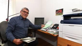 Muss politische Angelegenheiten zurzeit aus seinem Homeoffice in Liestal erledigen: Eric Nussbaumer.