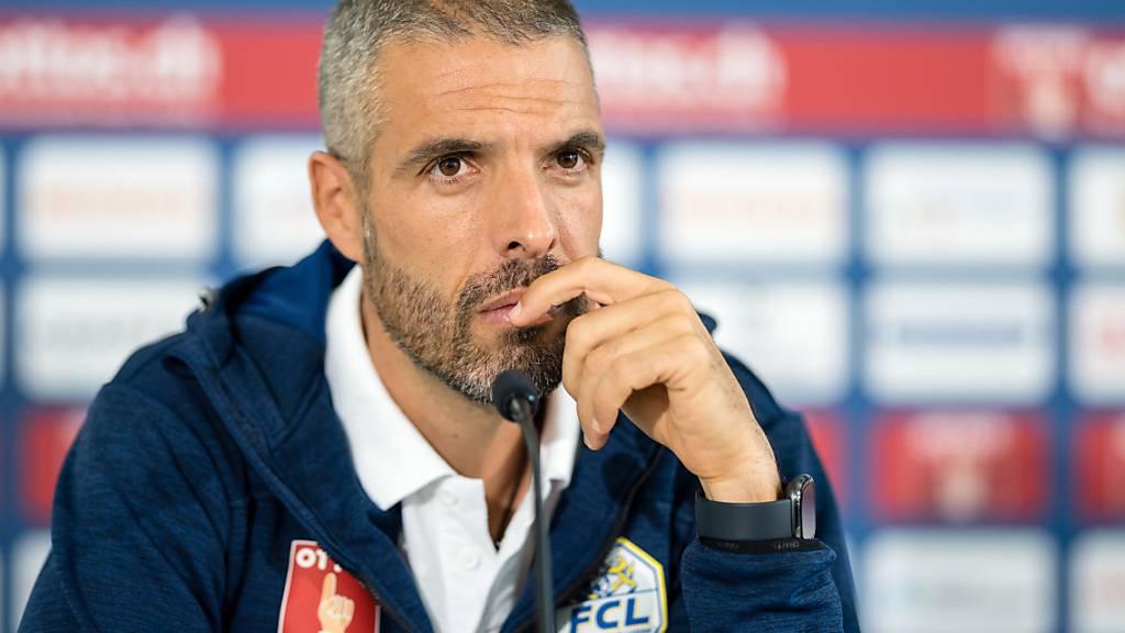 Wann kann Trainer Fabio Celestini mit dem FC Luzern den ersten Sieg einfahren?