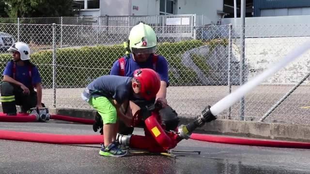 Hauptübung der Feuerwehr Grenchen