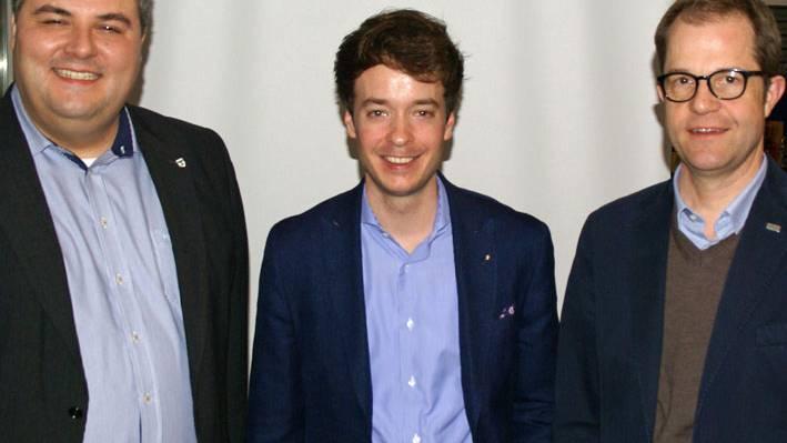 Stefan Bieri, Adrian Schoop, Gabriel Lüthy (v.l.)