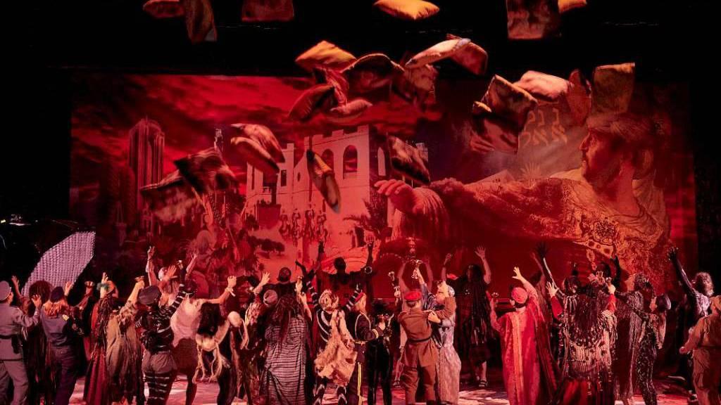 """Händels """"Belshazzar"""" hatte am 3. November 2019 Premiere am Opernhaus Zürich."""