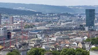 Gehört zu den Gemeinden mit einem besonders starken Rückgang der Leerwohnungszahl: die Stadt Zürich.