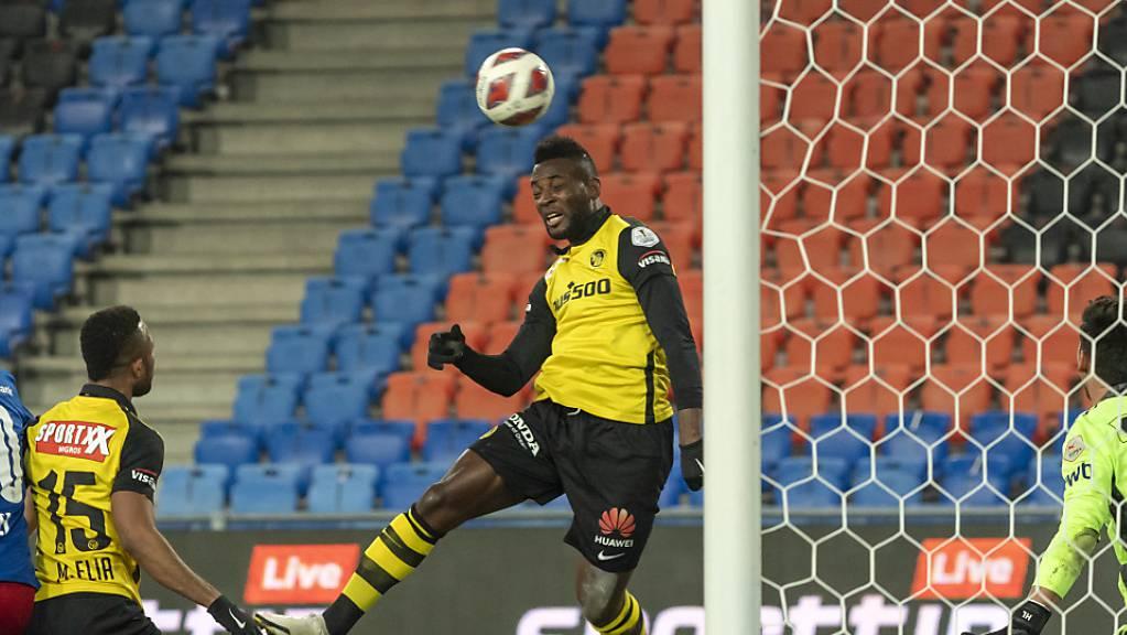 Jean-Pierre Nsame zeigte mit YB dem FC Basel den Meister