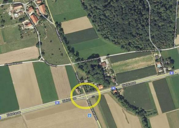 Auf der Haag-Kreuzung bei Selzach geschah der Unfall