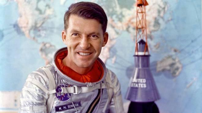 Umkreiste mehrere Male die Erde: Wally Schirra (1923–2007), einer der ersten Nasa-Astronauten. Foto: NASA
