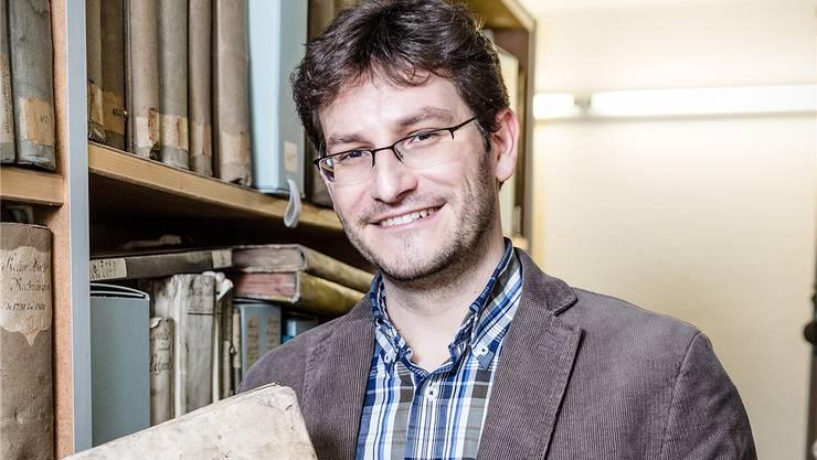 Raoul Richner, Stadtarchivar von Aarau